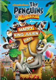 Os Pinguins de Madagascar – Feliz Dia do Rei Julien!
